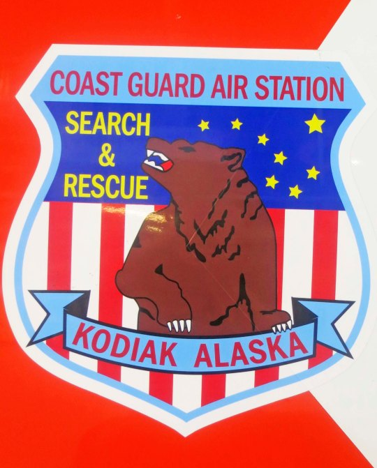 The Coast Guard Air Station on Kodiak rightly features a Kodiak Bear on its logo.
