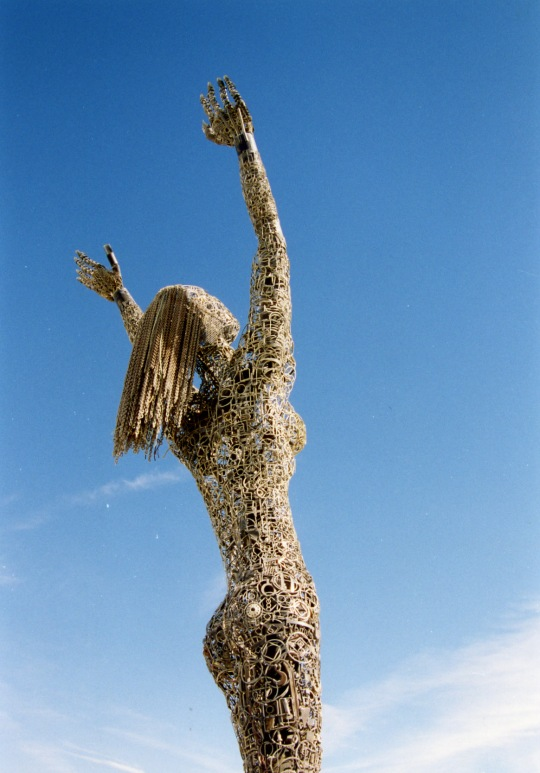 The art can be uplifting, like this 2006 sculpture...