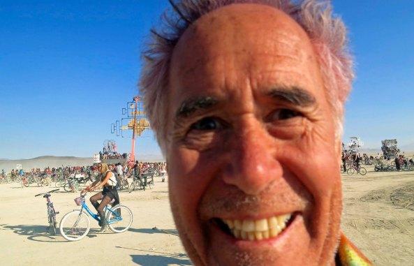 Tom Lovering at Burning Man 2013.