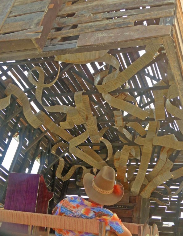 Church Trap designed by artist Rebekah Waites at Burning Man 2013