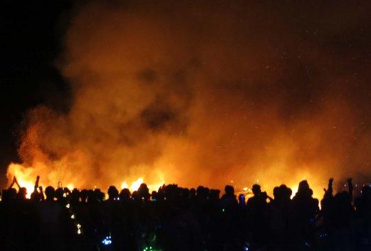 2013 burn at Burning Man