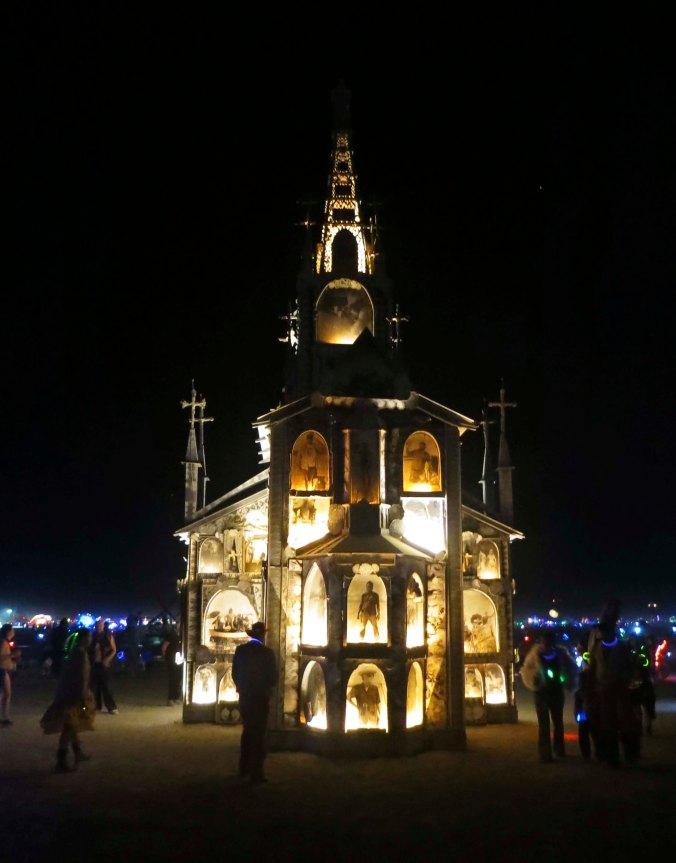 Burning Man 2013 Photo Chapel.