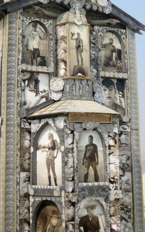Photos on the Photo Chapel at Burning Man 2013 taken and processed by Mike Garlington. builder of the chapel.