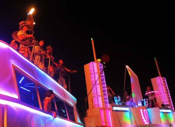 Music the night of the Burn at Burning Man 2013.
