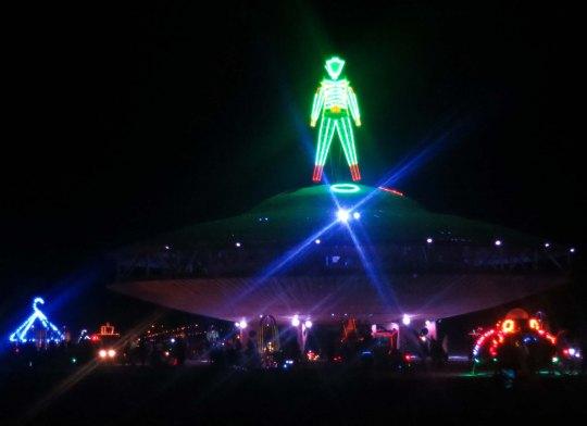 The Man at Burning Man 2013