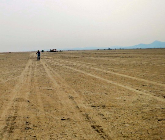 The far reaches of the Playa at Burning Man 13