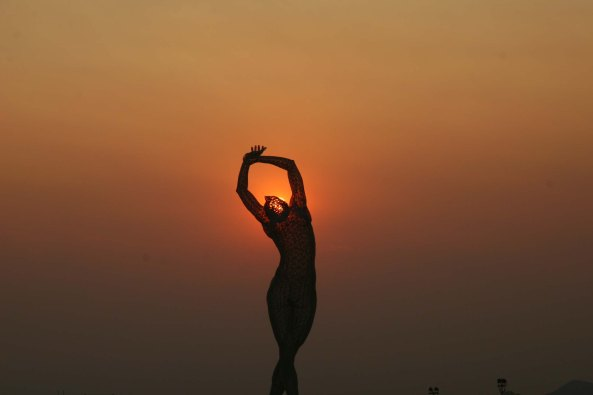 Truth Is Beauty photo by Tom Lovering at Burning Man.