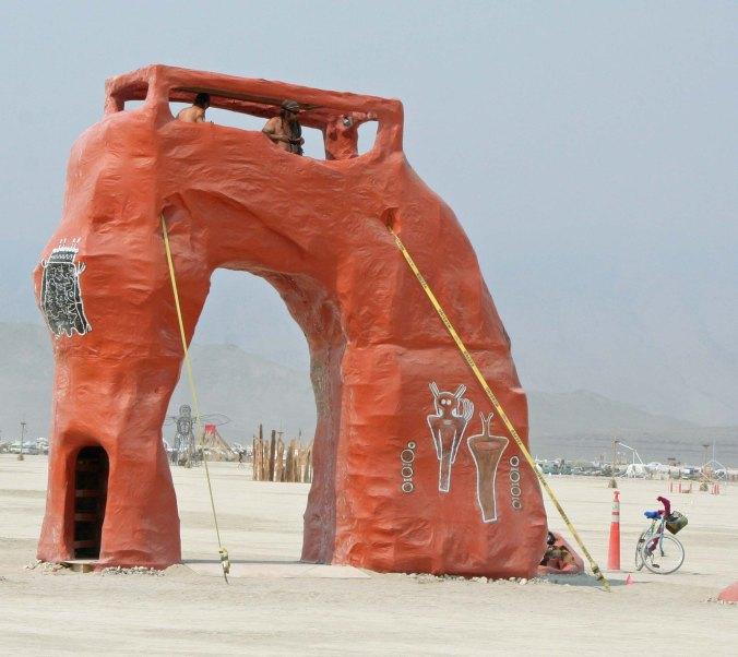 Utah regional art at Burning Man 2013.