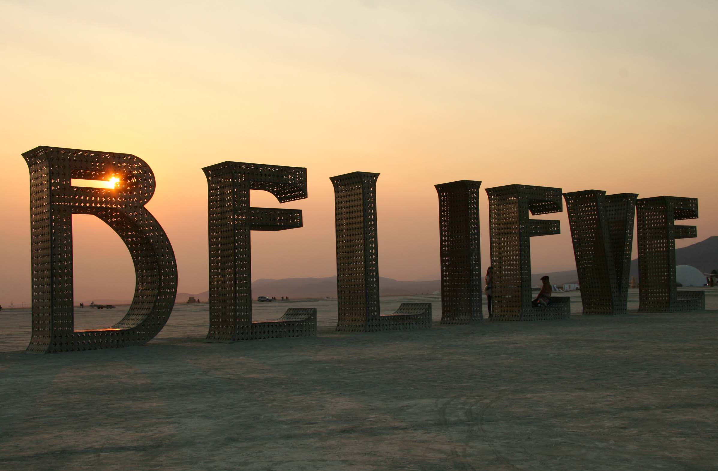 Believe sculpture at Burning Man 2013 | Wandering through ...