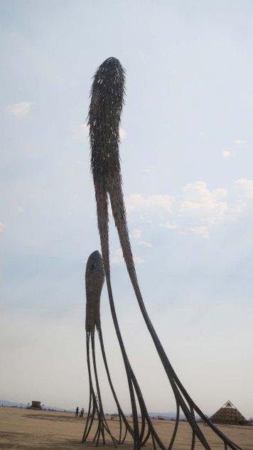 Art sculpture Drift at Burning Man 2013
