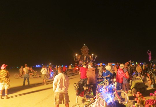 El Pulpo at Burning Man 2013.