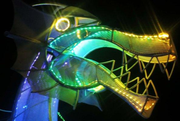 Burning Man 2013 dragon