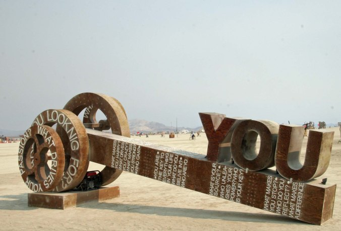One of Tom's favorite sculptures was You Are the Key. (Photo by Tom Lovering.)