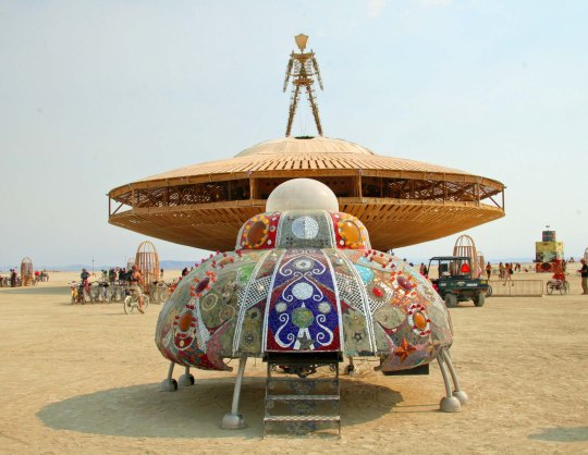 Cargo Youth Spacecraft at Burning Man 2013.
