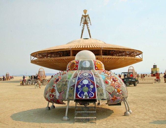 Cargo Youth Spacecraft at Burning Man 2013.
