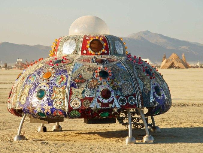 Cargo Youth Spacecraft at Burning Man 2013