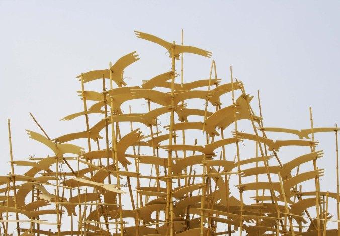 Lithuania art at Burning Man 2013.