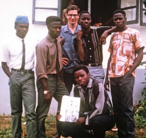 12th Grade Class of Gboveh High School, Gbanrga, Liberia (1967)