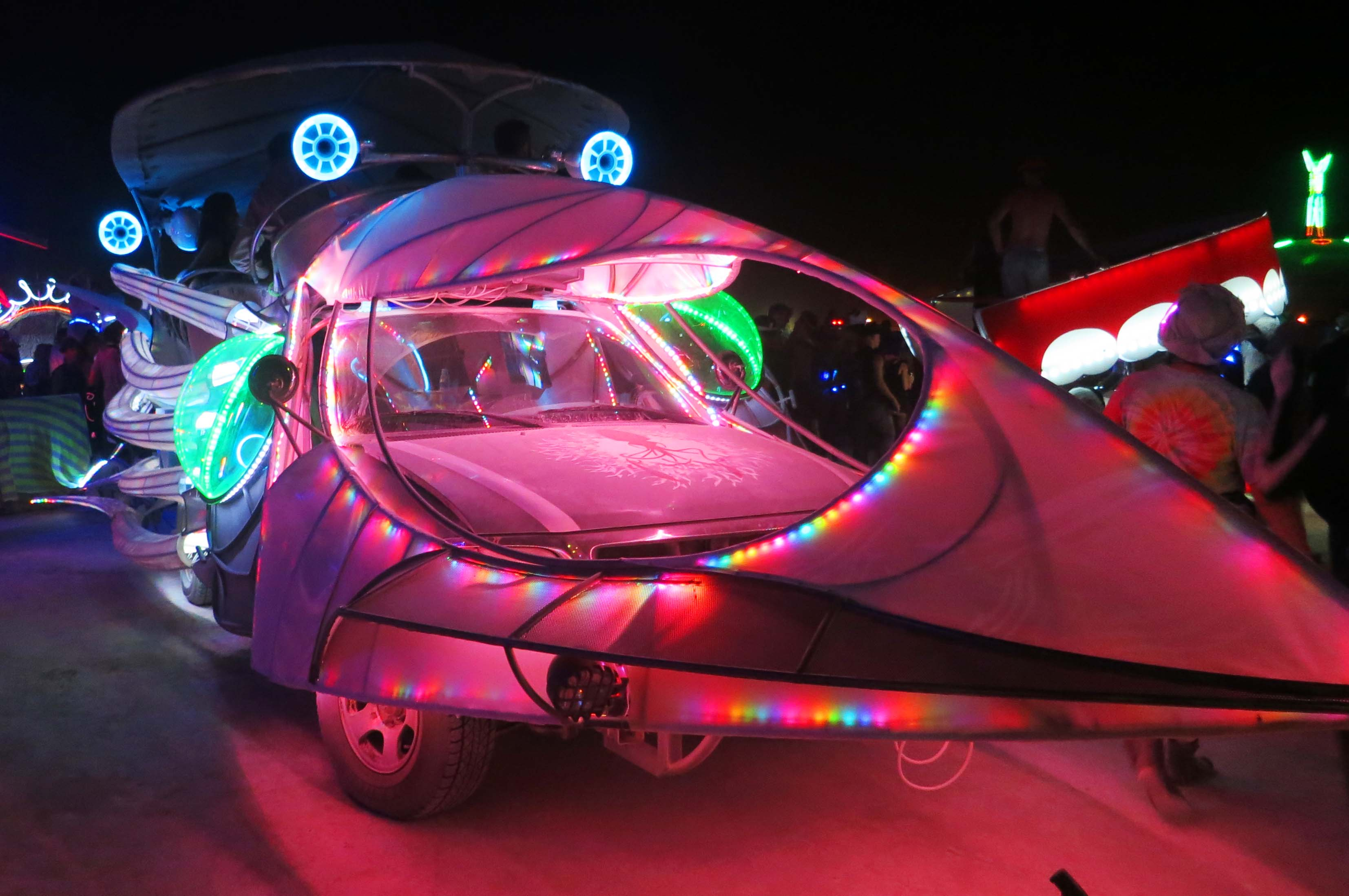 Mutant vehicles come in all shapes and sizes, ranging from what I call the squid car...