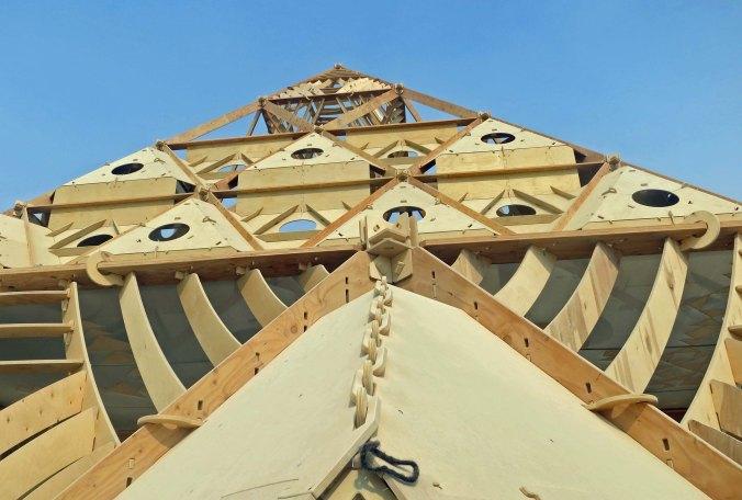 2013 Temple at Burning Man