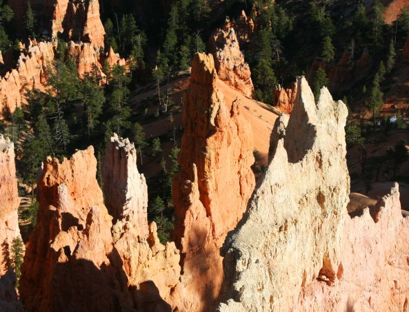 Hoodoo formation at Bryce Canyon. Photo by Curtis Mekemson.