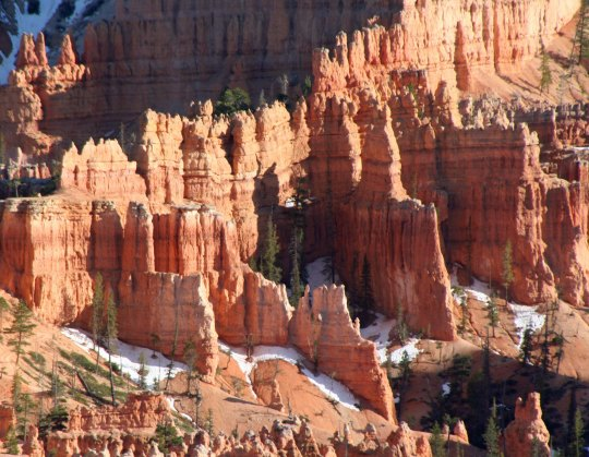 Walls, Fins and hoodoos at Bryce Canyon. Photo by Curtis Mekemson.