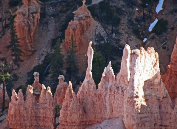 A hoodoo at Bryce Canyon National Park. Photo by Curtis Mekemson.