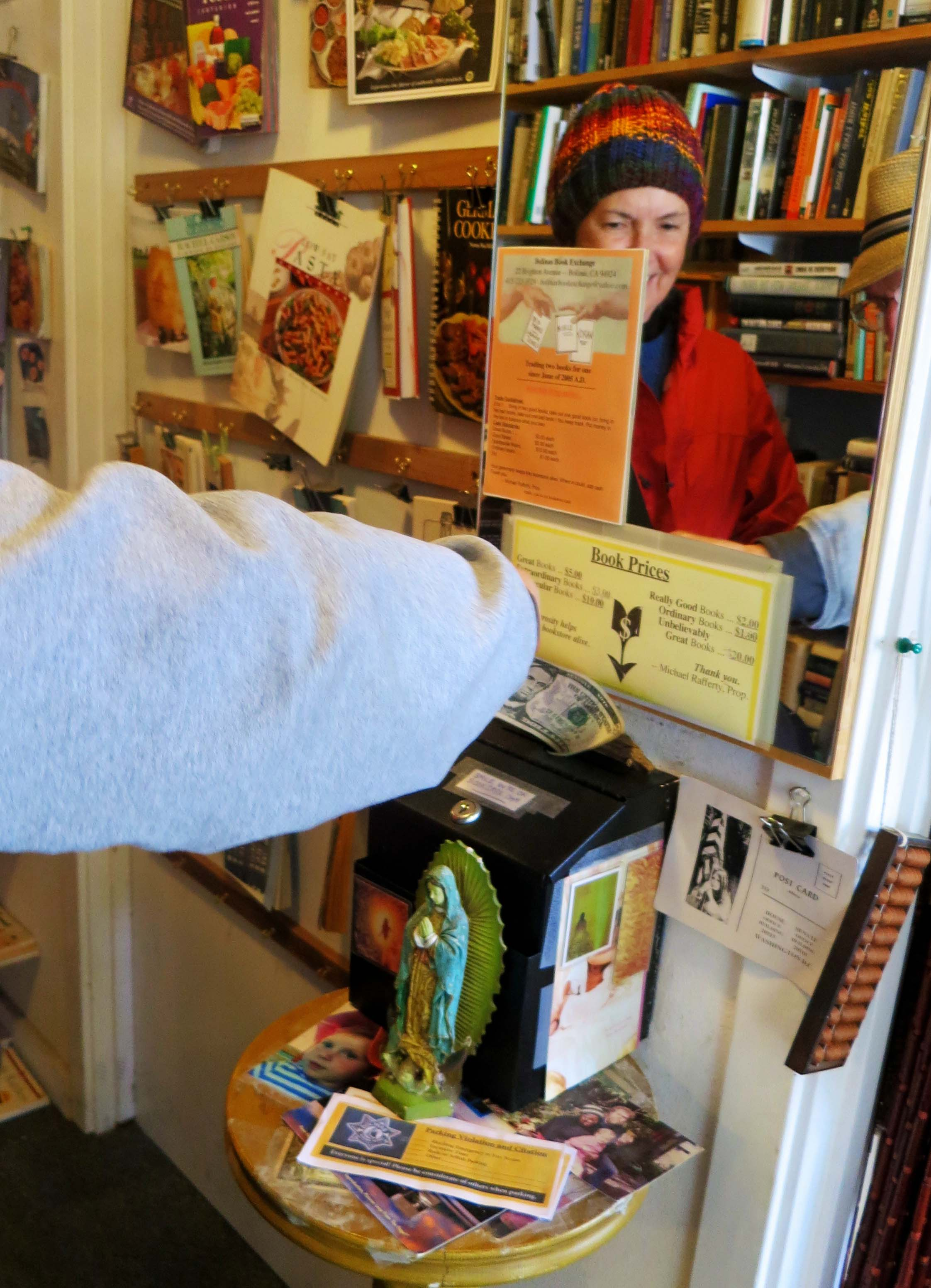 Bolinas Book Store photo by Curtis Mekemson.