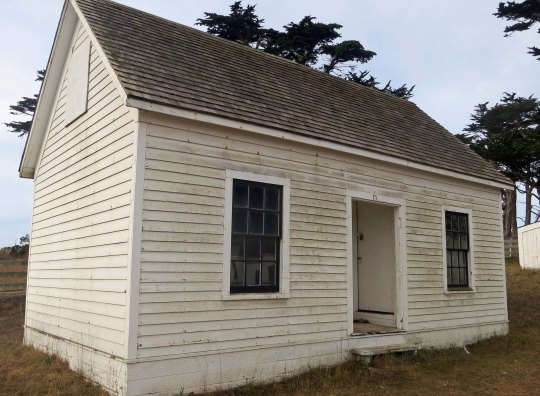Bunk house at Pierce Ranch on Pt. Reyes National Seashore. Photo by Curtis Mekemson.