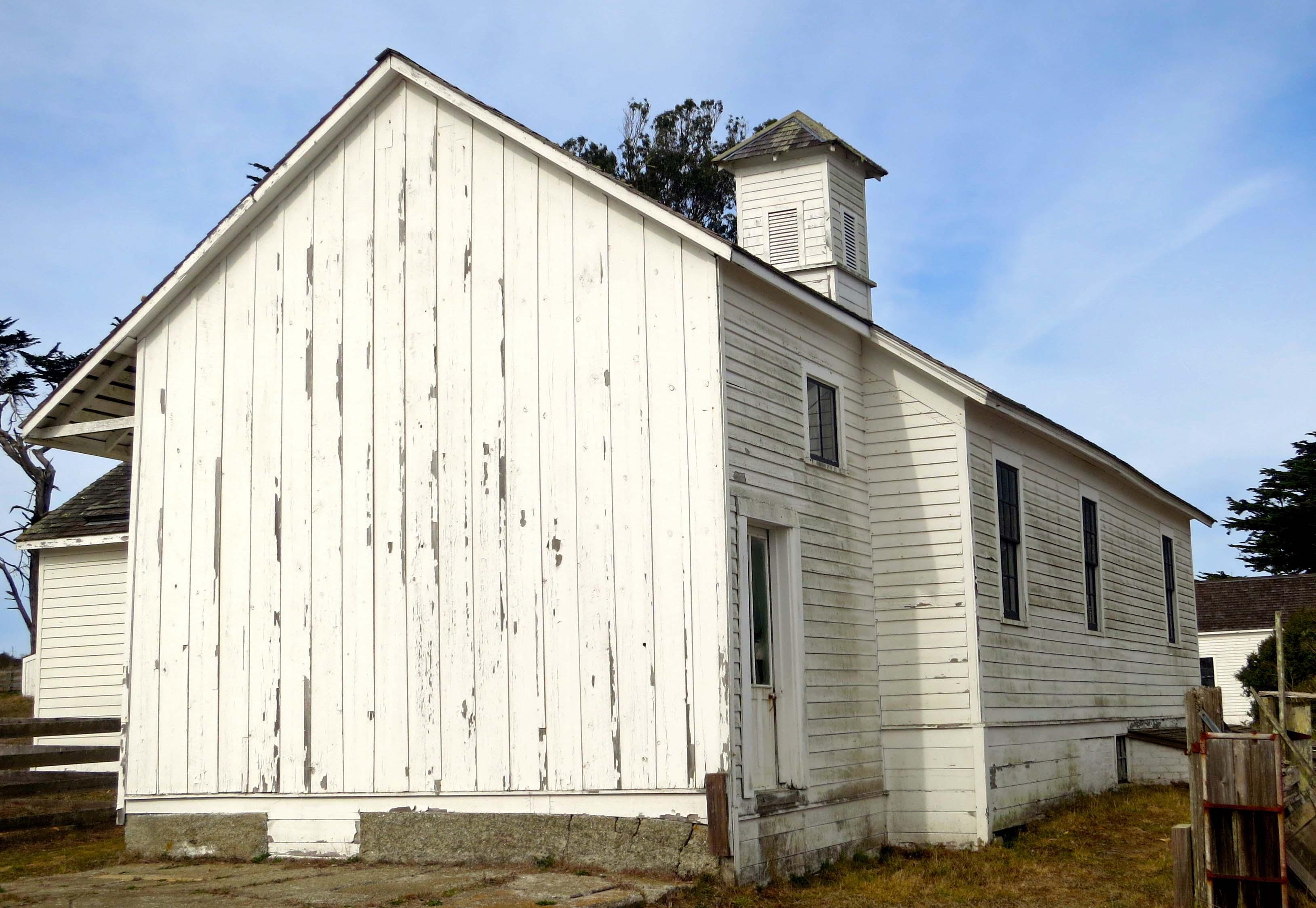Photo of dairy house at Pierce Ranch, Pt. Reyes National Seashore by Curtis Mekemson.