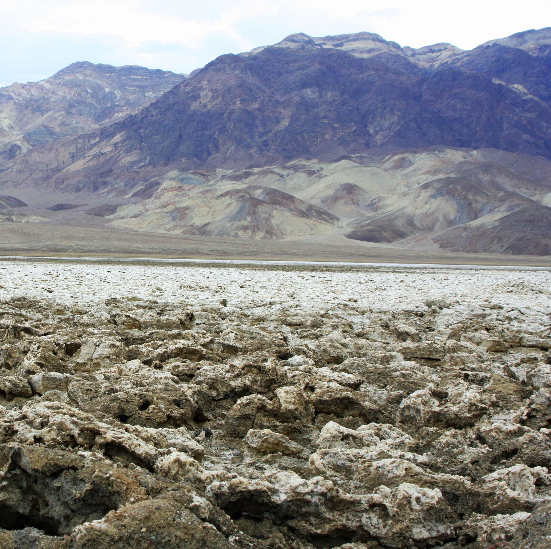 Devil's Golf Course, Death Valley. Photo by Curtis Mekemson.
