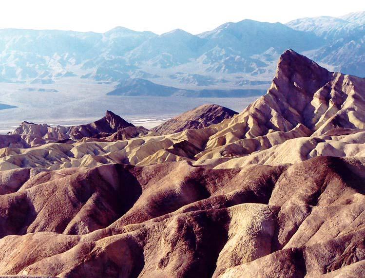 Photo of Zabriskie Point, Death Valley taken by Curtis Mekemson.