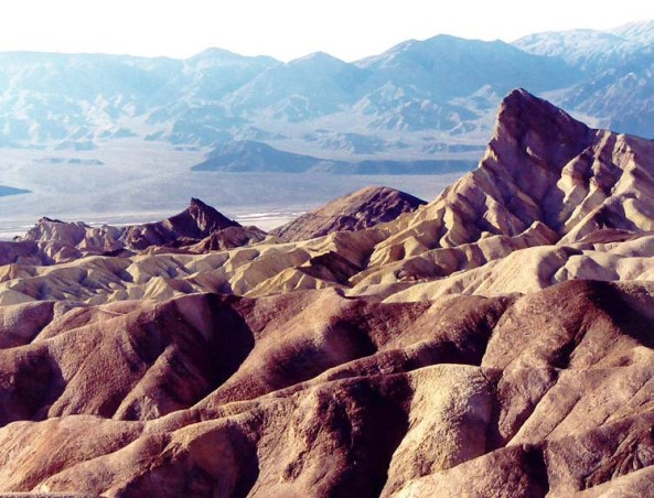 Photo of Zabriskie Point, Death Valley taken by Curtis Mekemson.