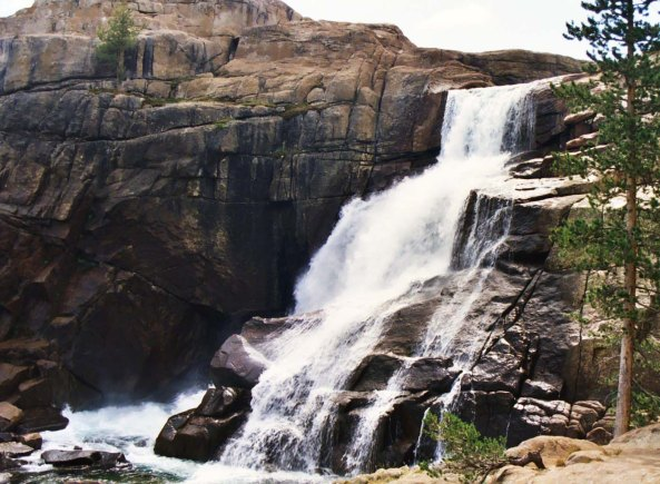 Falls on Tuolumne River in Yosemite National Park. Photo by Curtis Mekemson.