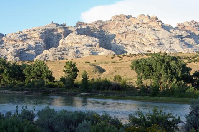 Green River flowing through Dinosaur National Monument. Photo by Curtis Mekemson.