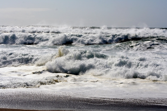 Waves at South Beach, Pt. Reyes National Seashore. Photo by Curtis Mekemson.