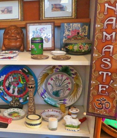 Eclectic Bolinas, California shop. Photo be Curtis Mekemson.