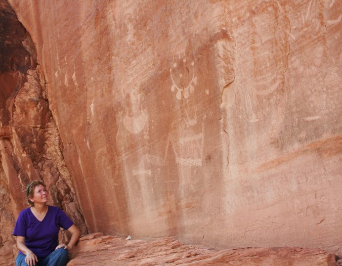 Cliff of petroglyphs in Dinosaur National Monument. Photo by Curtis Mekemson.