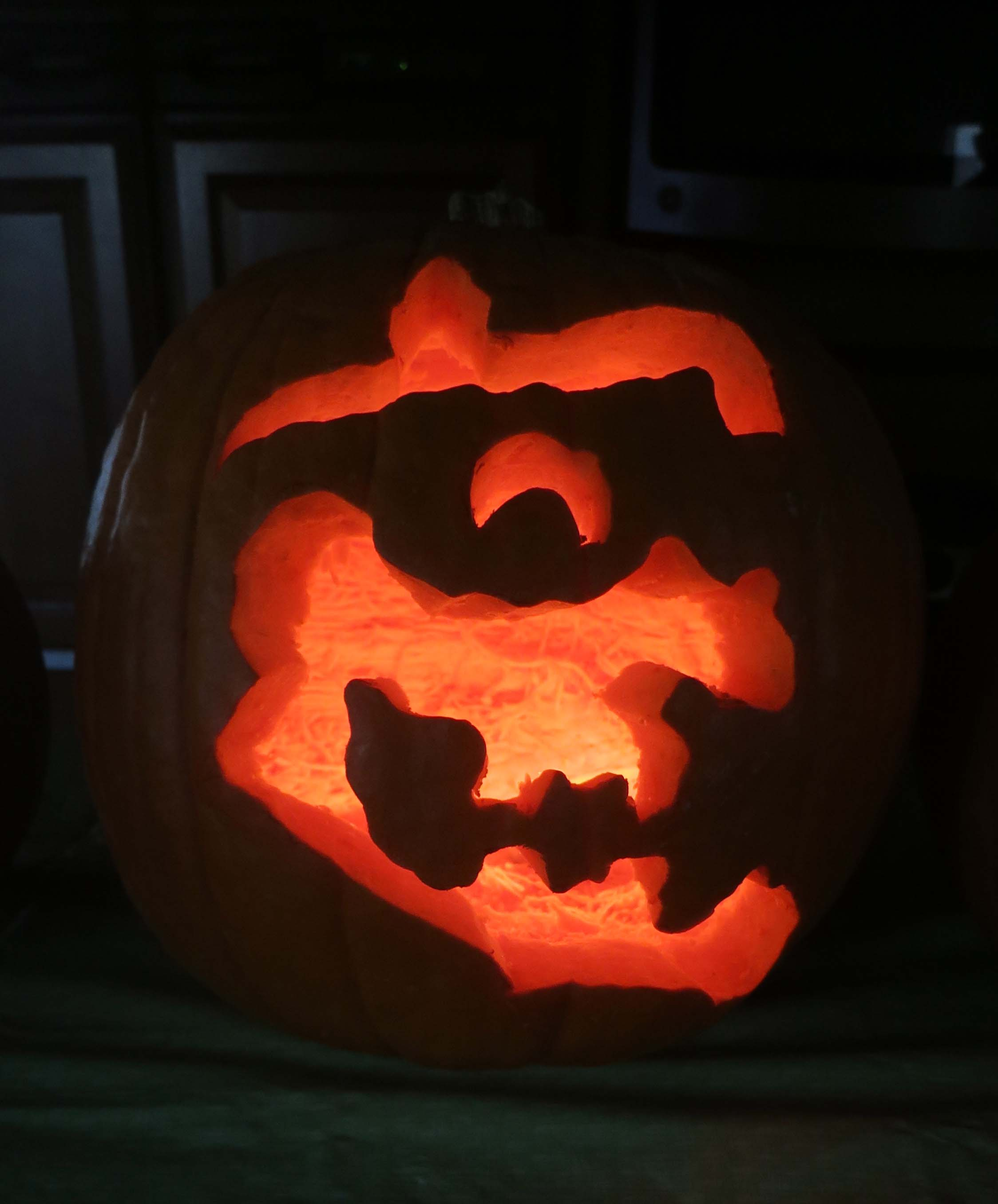 Pumpkin carving photo by Curtis Mekemson.