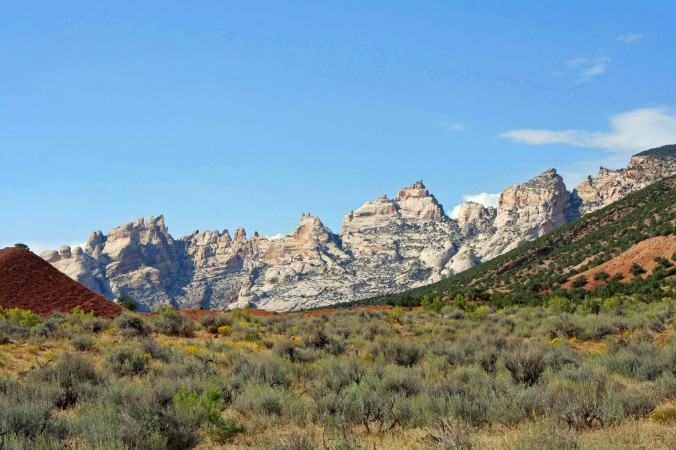 Dinosaur National Monument is filled with quiet beauty.