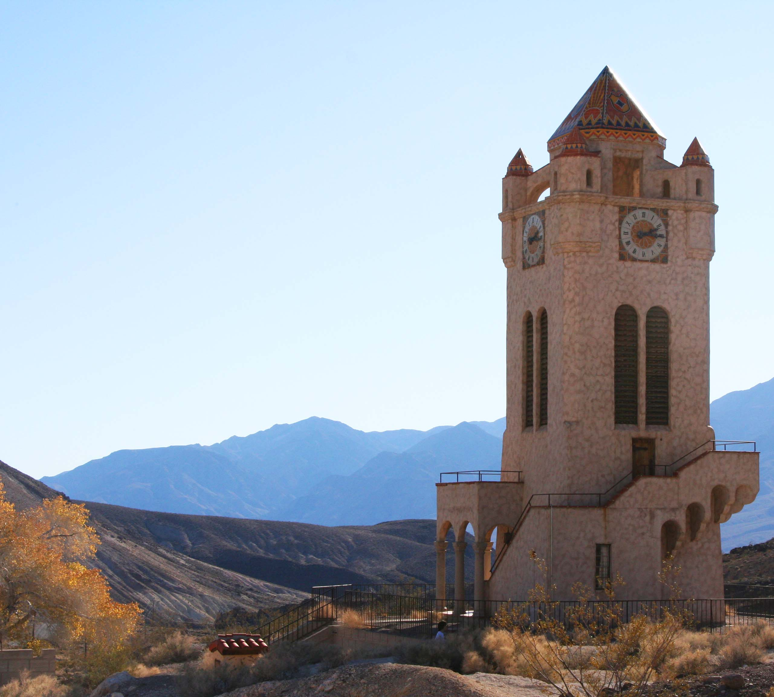 Scotty's Castle at Death Valley. Photograph by Curtis Mekemson.