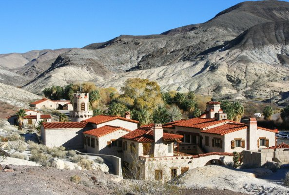 Scotty's Castle, Death Valley. Photo by Curtis Mekemson.