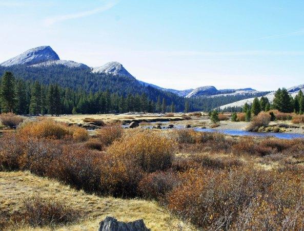 Tuolumne Meadows in Yosemite National Park. Photo by Curtis Mekemson.