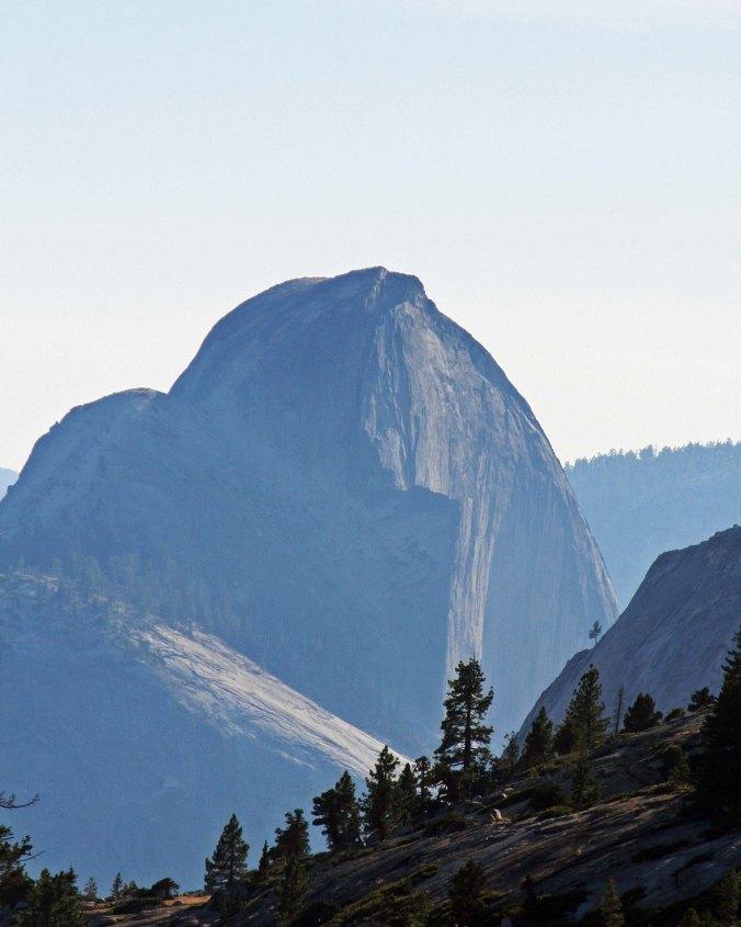 Yosemite's Half Dome captured on a hazy day. Photo by Curtis Mekemson.