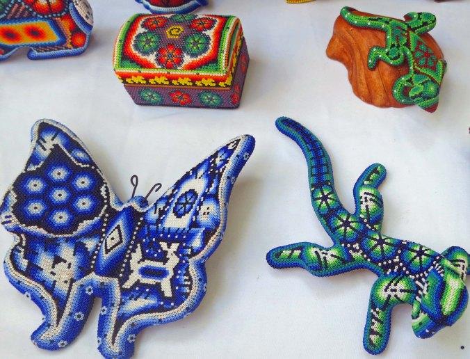 Beaded Huichol art. Photo by Curtis Mekemson.
