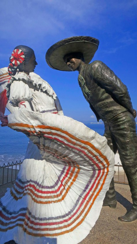 Sculpture of Vallarta Dancers by Jim Demitro. Photo by Curtis Mekemson.