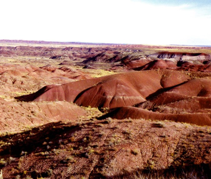 Photo of Painted Desert National Park in Arizona.
