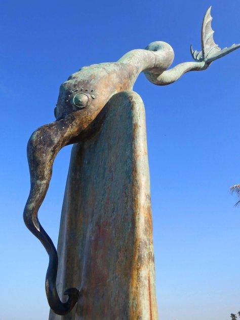 Sculpture by Alejandro Colunga in Puerto Vallarta, Mexico. Photo by Curtis Mekemson.