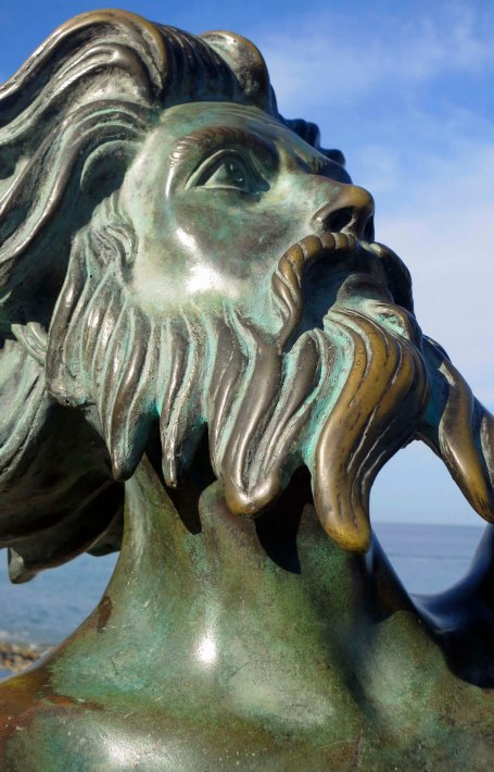 A closeup of Triton. You can see the love in his eyes. Or is that lust?