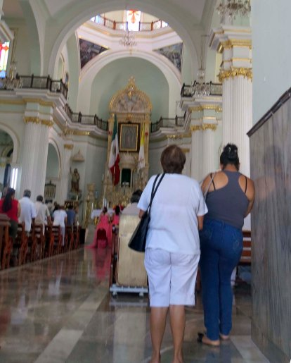Inside Church of Our Lady of Guadalupe in Puerto Vallarta. Photo by Curtis Mekemson.